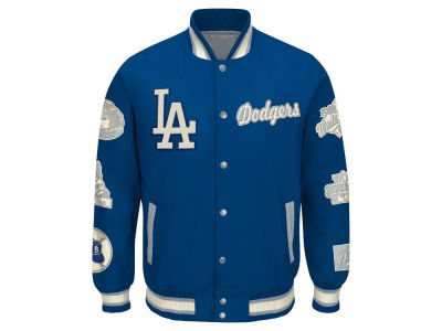 Los Angeles Dodgers GIII MLB Men's World Champs Commemorative Jacket