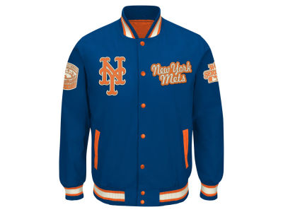 New York Mets G-III Sports MLB Men's World Champs Commemorative Jacket