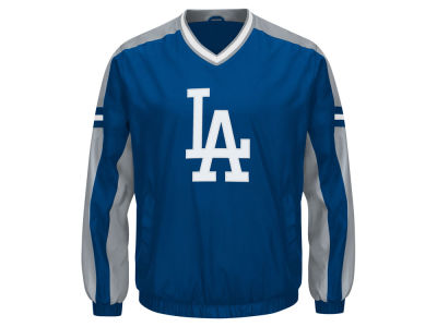 Los Angeles Dodgers G-III Sports MLB Men's Draft Pick V-Neck Pullover