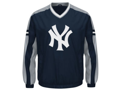 New York Yankees GIII MLB Men's Draft Pick V-Neck Pullover