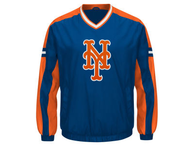 New York Mets G-III Sports MLB Men's Draft Pick V-Neck Pullover