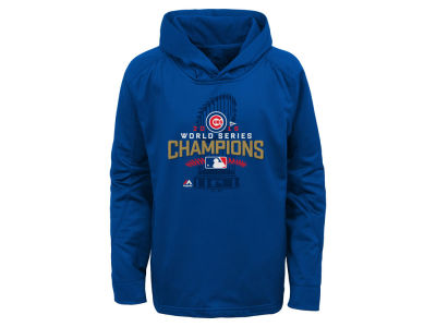 Chicago Cubs Majestic MLB Youth 2016 World Series Locker Room Hoodie