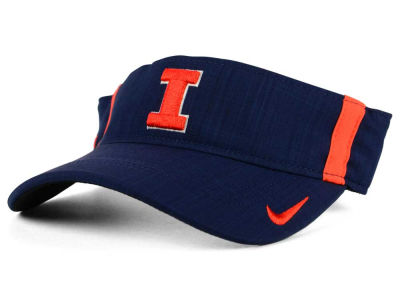 Illinois Fighting Illini Nike NCAA Sideline Aero Visor