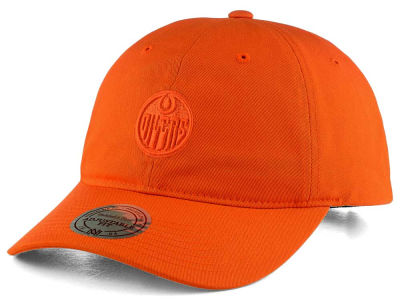 Edmonton Oilers Mitchell & Ness NHL Rainbow Adjustable Cap