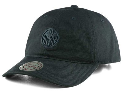 Edmonton Oilers Mitchell & Ness NHL Neutral Adjustable Cap