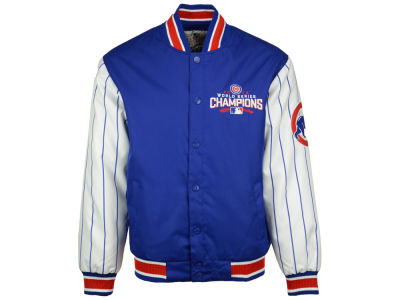 Chicago Cubs MLB Men's 2016 World Series Champ Pinstripe Jacket