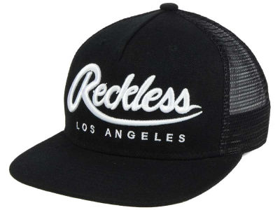 Young And Reckless Script Trucker Cap