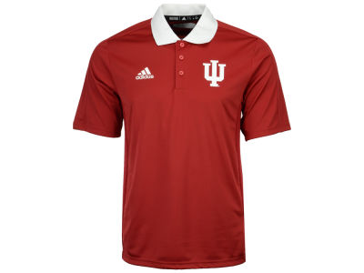 Indiana Hoosiers adidas 2017 NCAA Men's Coaches Polo