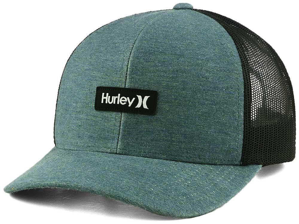 d1887587 usa hurley art time white black trucker cap 24fdc cabd2; usa hurley el  morro trucker hat 72de0 19b79