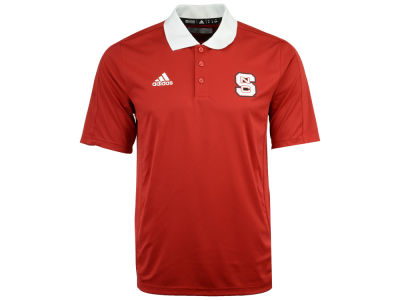 North Carolina State Wolfpack adidas 2017 NCAA Men's Coaches Polo