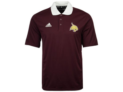Texas State Bobcats adidas 2017 NCAA Men's Coaches Polo