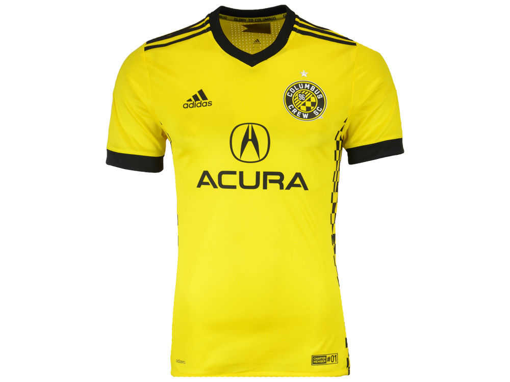 7ebe3a413 Columbus Crew SC adidas MLS Men s Primary Authentic Jersey