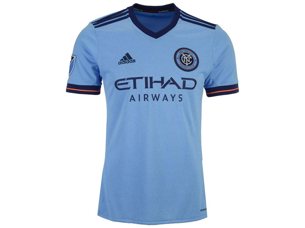 New York City FC adidas MLS Men s Primary Replica Jersey  5c8a8079f2c0
