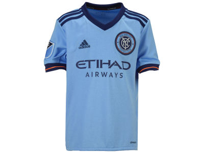 New York City FC adidas MLS Youth Primary Replica Jersey