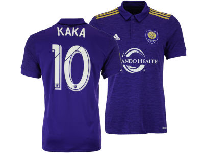 Orlando City SC Ricardo Kaka adidas MLS Men's Primary Replica Player Jersey