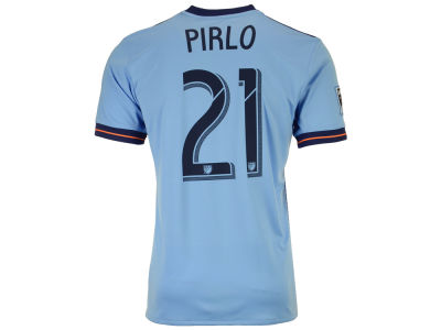 New York City FC Andrea Pirlo adidas MLS Men's Primary Replica Player Jersey