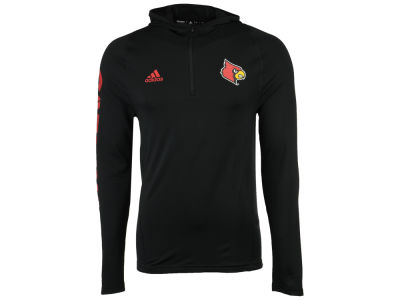 Louisville Cardinals adidas NCAA Men's Sideline Quarter Zip Training Hood
