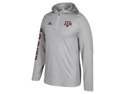 Texas A&M Aggies adidas NCAA Men's Sideline Quarter Zip Training Hood