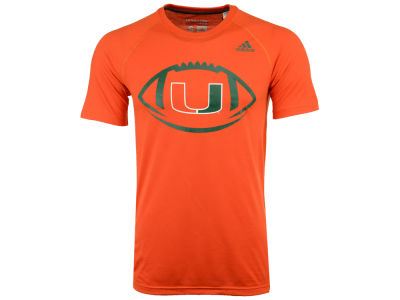 Miami Hurricanes adidas NCAA Men's Pigskin T-Shirt