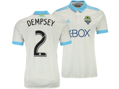 Seattle Sounders FC Clint Dempsey adidas MLS Secondary Replica Player Jersey