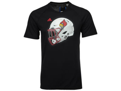 Louisville Cardinals adidas 2017 NCAA Men's Helmet T-Shirt