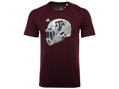 Texas A&M Aggies adidas 2017 NCAA Men's Helmet T-Shirt