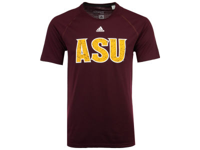 Arizona State Sun Devils adidas NCAA Men's White Noise Logo T-Shirt