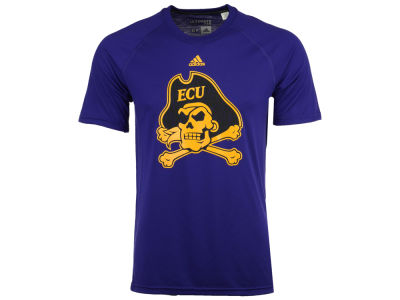 East Carolina Pirates adidas NCAA Men's White Noise Logo T-Shirt