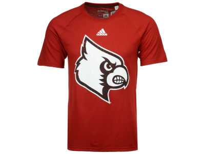 Louisville Cardinals adidas NCAA Men's White Noise Logo T-Shirt
