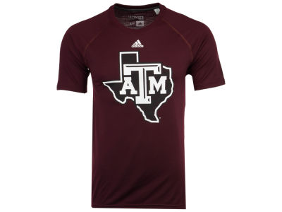 Texas A&M Aggies adidas NCAA Men's White Noise Logo T-Shirt