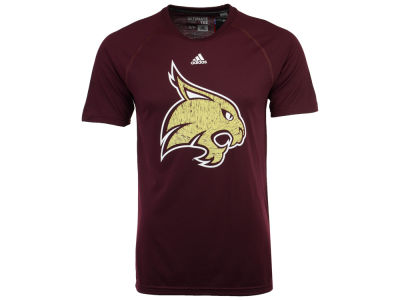 Texas State Bobcats adidas NCAA Men's White Noise Logo T-Shirt