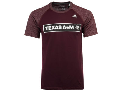 Texas A&M Aggies adidas NCAA Men's White Noise Scoreboard T-Shirt