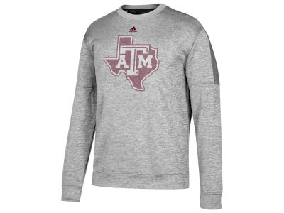 Texas A&M Aggies adidas NCAA Men's Linear Logo Crew Sweatshirt