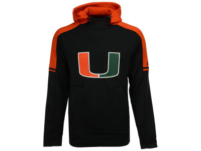Miami Hurricanes adidas NCAA Men's Sideline Player Hoodie