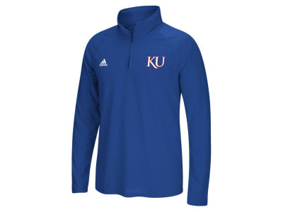 Kansas Jayhawks adidas NCAA Men's Ultimate Quarter Zip
