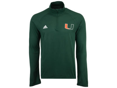 Miami Hurricanes adidas NCAA Men's Ultimate Quarter Zip