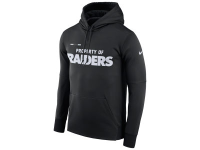 Oakland Raiders Nike NFL Men's Therma Hoodie