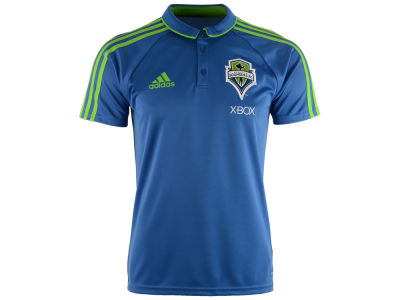 Seattle Sounders FC adidas MLS Men's Coaches Polo