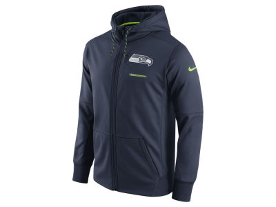 Seattle Seahawks Nike NFL Men's Therma Full Zip Hoodie