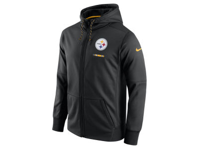 Pittsburgh Steelers Nike NFL Men's Therma Full Zip Hoodie