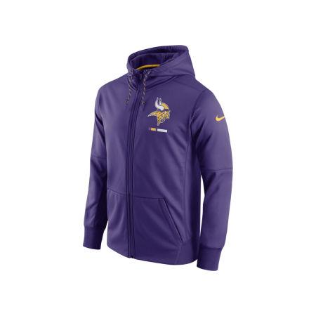 Minnesota Vikings Nike NFL Men's Therma Full Zip Hoodie