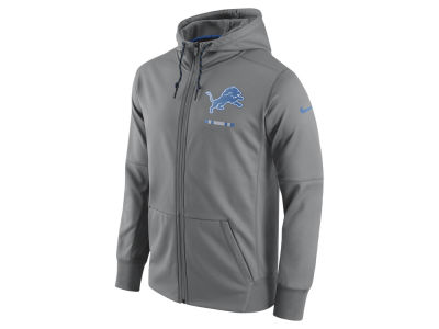 Detroit Lions Nike NFL Men's Therma Full Zip Hoodie