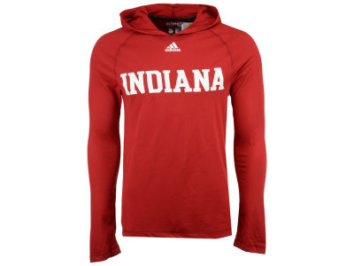 Indiana Hoosiers adidas NCAA 2017 Men's Mark My Words Long Sleeve Ultimate Hooded T-Shirt