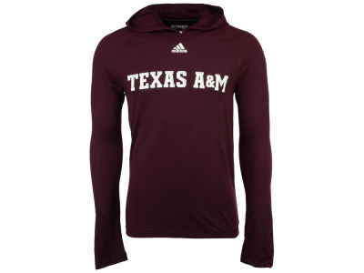 Texas A&M Aggies adidas NCAA 2017 Men's Mark My Words Long Sleeve Ultimate Hooded T-Shirt