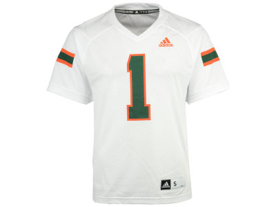 Miami Hurricanes adidas NCAA Replica Football Jersey
