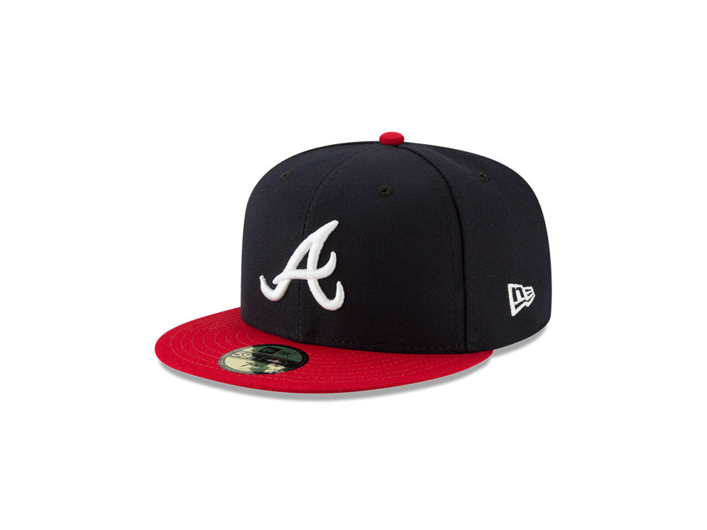 Atlanta Braves New Era MLB Authentic Collection 59FIFTY Cap cfc0f20ff4df