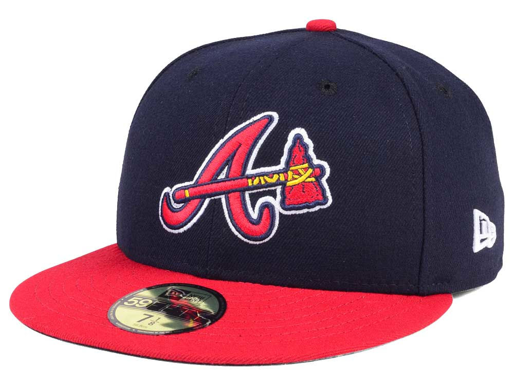 Atlanta Braves New Era MLB Authentic Collection 59FIFTY Cap  8c0800166b9