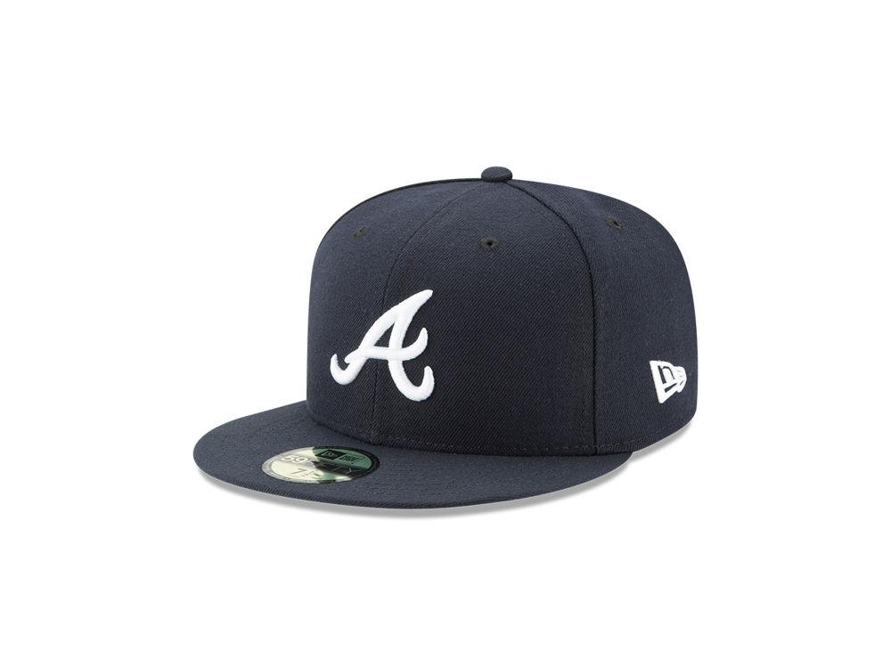 5cff44d8b96 Atlanta Braves New Era MLB Authentic Collection 59FIFTY Cap