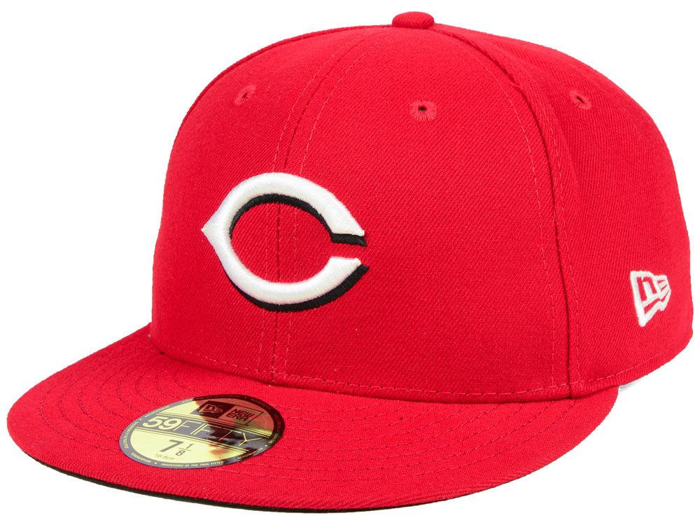 893494d1a1b Cincinnati Reds New Era MLB Authentic Collection 59FIFTY Cap