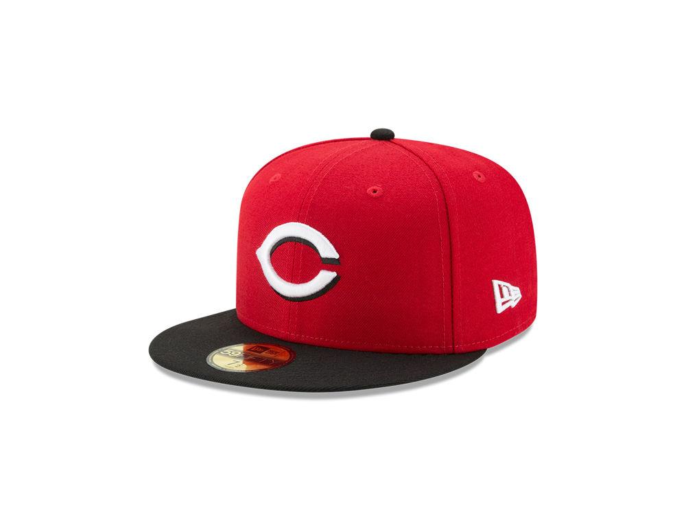 Cincinnati Reds New Era MLB Authentic Collection 59FIFTY Cap  c1a0cd2ec